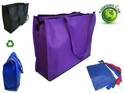 """20"""" Extra Large Recycled Eco Friendly Grocery Shopping Tote"""