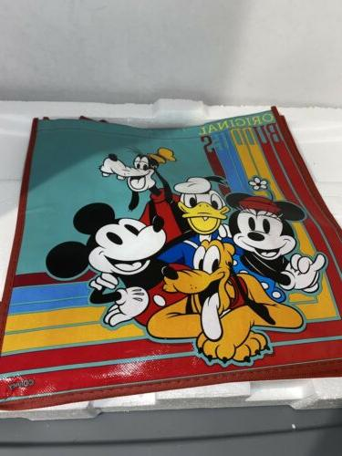 new mickey mouse reuseable tote gift bag