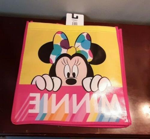 tote bag reusable minnie mouse grocery shopping