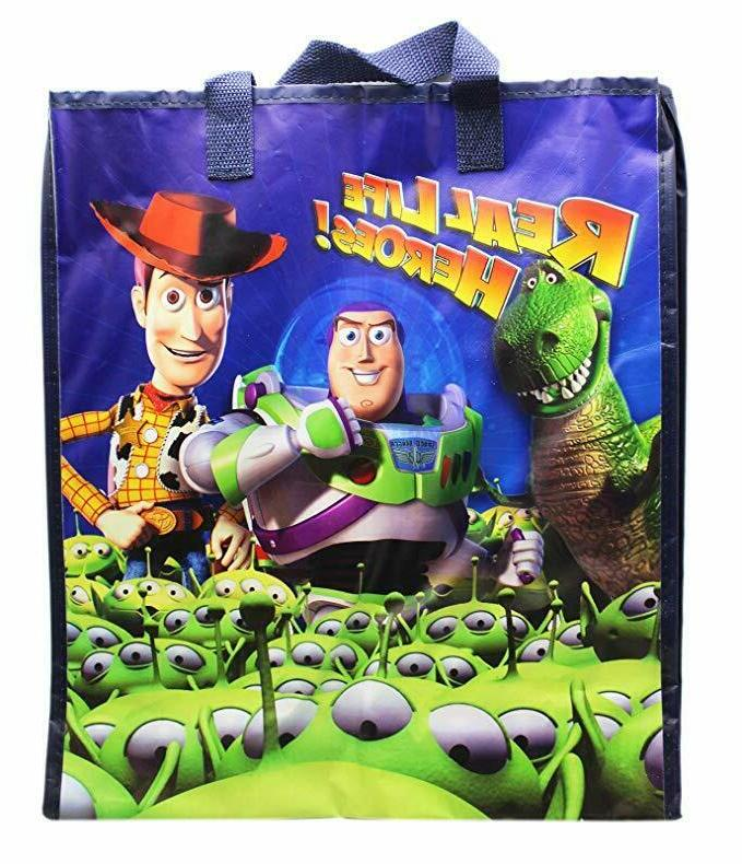 toy story real life heroes reusable tote