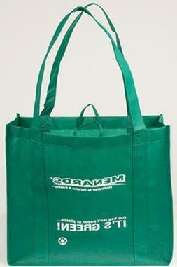 LOT OF 7 LARGE SHOPPING GROCERY TOTE BAGS REUSABLE FOLDABLE