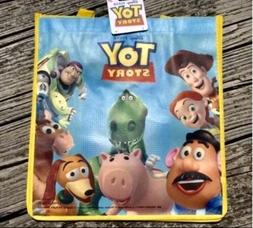 NEW Disney TOY STORY Reusable Grocery Bag Tote Gift Bag